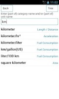 Screenshot of UnitTab - Unit Converter