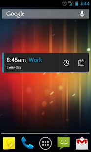 CircleAlarm (Holo Alarm Clock) Screenshot 4