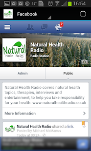 Natural Health Radio- screenshot thumbnail