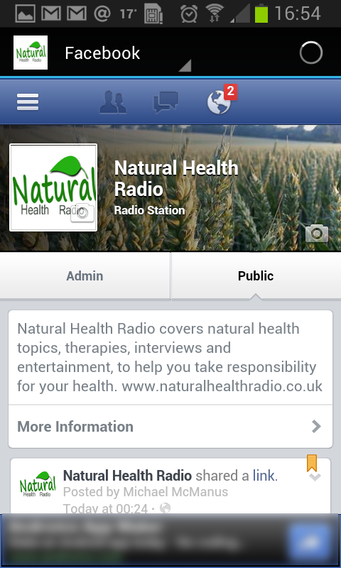 Natural Health Radio- screenshot