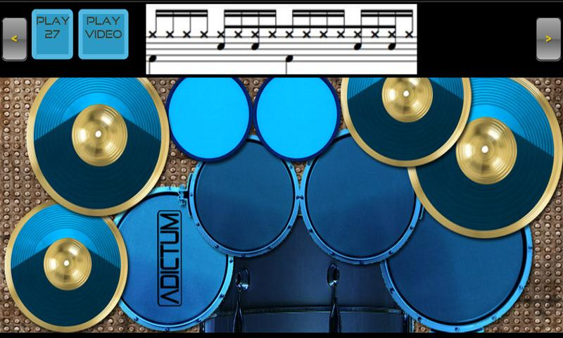 Adictum Drum Lessons - Free - screenshot
