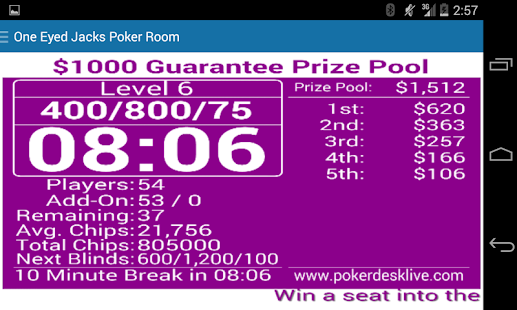 Poker Desk Live- screenshot thumbnail