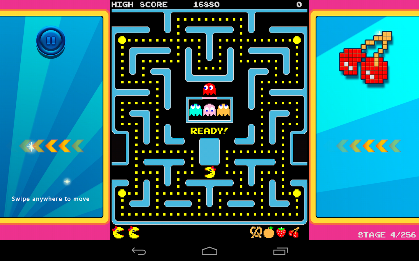 Ms. PAC-MAN by Namco – Screenshot