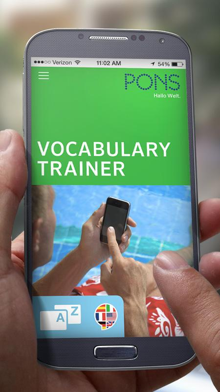 PONS Vocabulary Trainer- screenshot