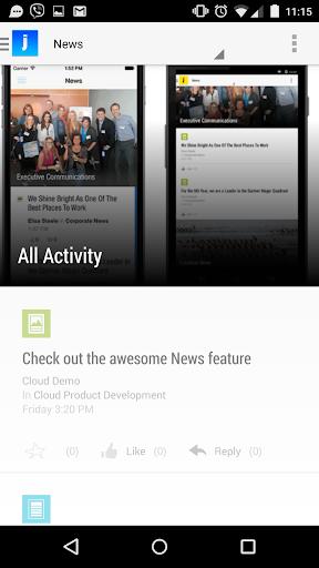 【免費生產應用App】Jive-APP點子