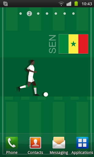 Senegal Soccer LWP
