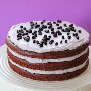 Chocolate Quinoa Cake-gluten Free.