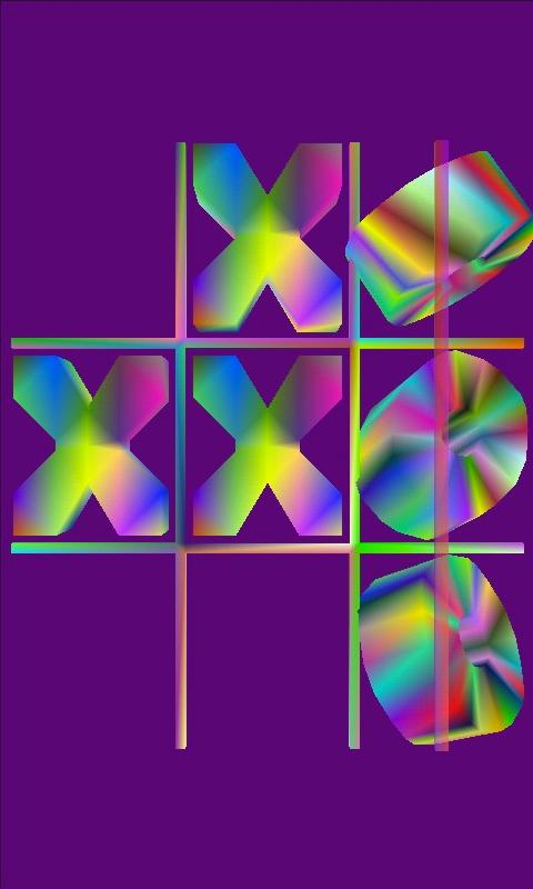 biggs' trippy tic tac toe - screenshot