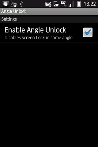 Angle Unlock Simple