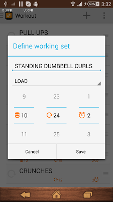 Workout  for SmartWatch - screenshot