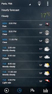 Sense V2 Flip Clock & Weather - screenshot thumbnail