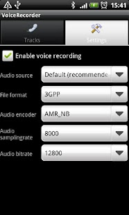 Voicecall recorder - screenshot thumbnail