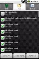 Screenshot of NewzDroid NZB Downloader