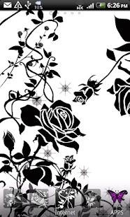 ArteLauncher theme BlackRose