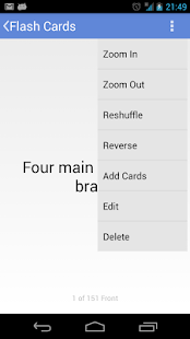 Flashcards Application - screenshot thumbnail