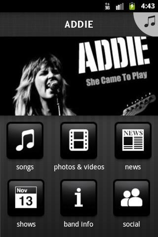 ADDIE - screenshot