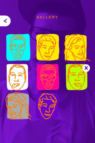 Trace A Face by Samsung - screenshot