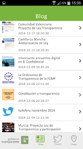 Gobierno Transparente screenshot 11