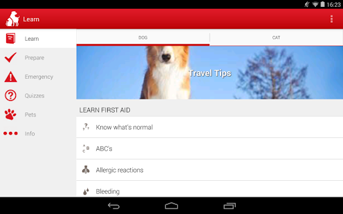 Pet First Aid - Red Cross Screenshot 16