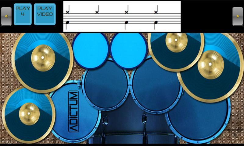 Adictum Drum Lessons - Free - screenshot