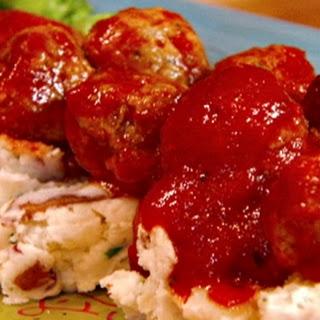 Sweet-n-sour Turkey Meatballs