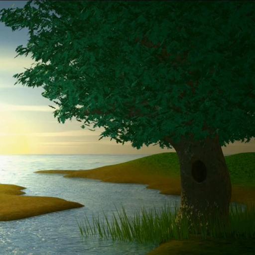 River Landscape Live Wallpaper LOGO-APP點子