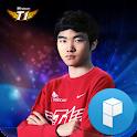 리그오브레전드 세계최강 페이커 런처플래닛 테마