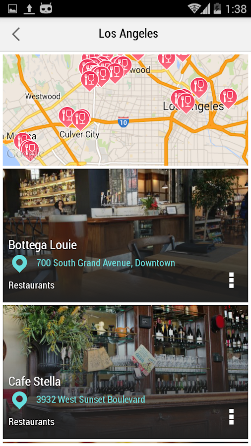 Los Angeles City Guide - screenshot
