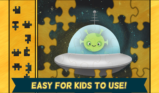 Space Games for Kids: Puzzles- screenshot thumbnail