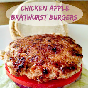 Chicken Apple Bratwurst Burgers Recipe | Yummly