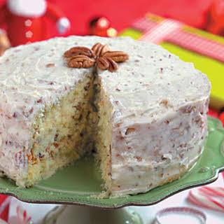 Quick Italian Cream Cake.
