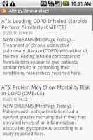 Screenshot of Medical News