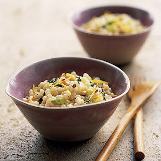Israeli Couscous with Mint and Lemon