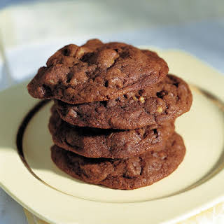 Double Chocolate Chip Cookies.