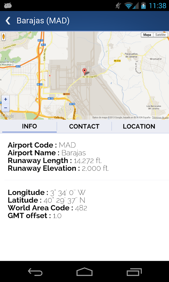 World Airport Codes - screenshot
