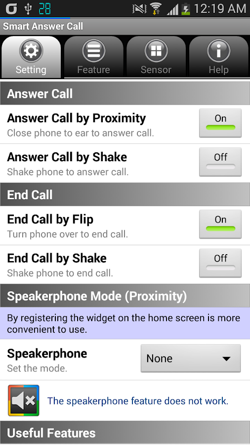 Smart Answer Call - screenshot