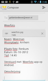 Weerfoto - screenshot thumbnail