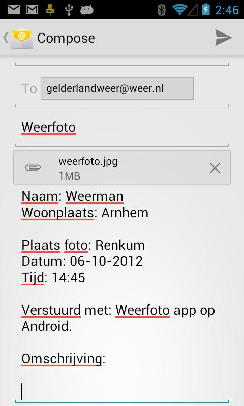 Weerfoto - screenshot