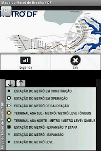 Metro Map - Brasilia - Brazil- screenshot thumbnail