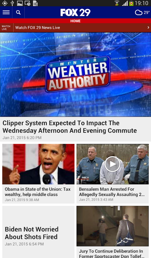 FOX 29 News- screenshot