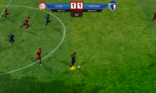 Superstar Soccer Evolution: miniatura de captura de pantalla
