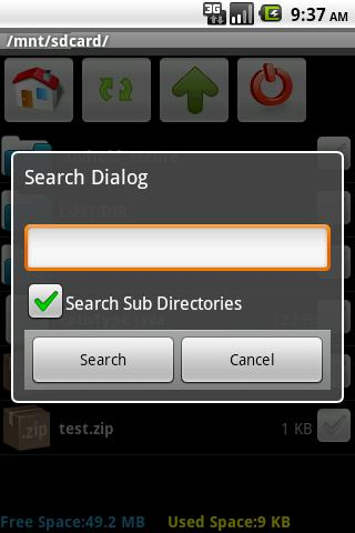 SD Card Manager - screenshot