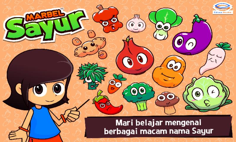 Marbel Belajar Sayur- screenshot