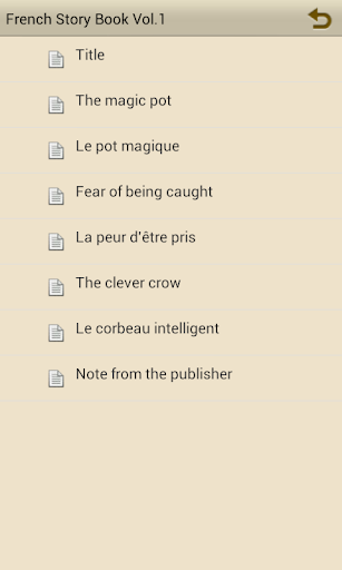 Learn French by Story Book V1