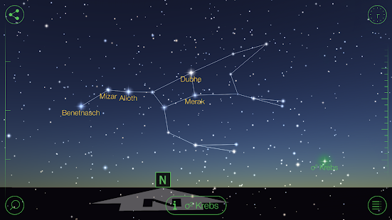 Star Walk - Sternenatlas Screenshot