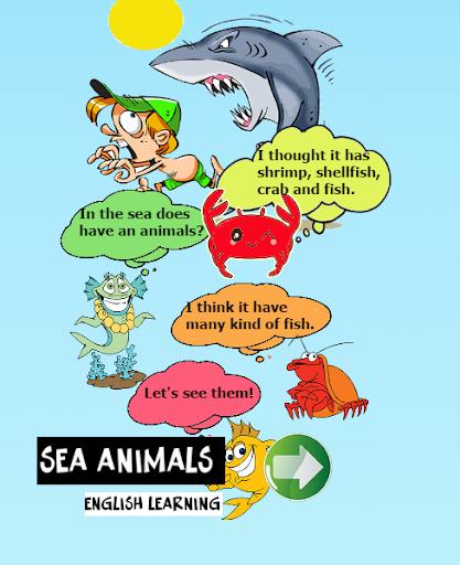 海洋动物英语