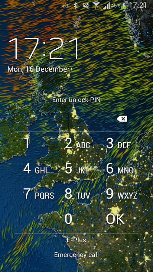 MeteoEarth- screenshot