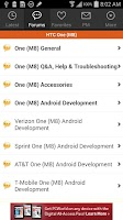 Screenshot of XDA for Android 2.3