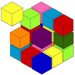 CubiColor – 3D Sudoku puzzle for PC and MAC