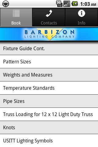 Barbizon Handbook - screenshot